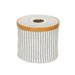 Wool dispenser Canvas & Bamboo foldable grey