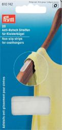 Non-slip strips for coathangers