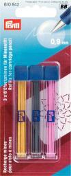 Ersatzminen für Minenstift Ø 0,9 mm farbig sortiert