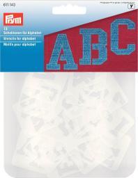 Schablonen für Alphabet sort.
