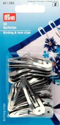 Binding & hem clips             30pc