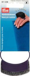 Handnadelkissen mit Spange pflaumenblau