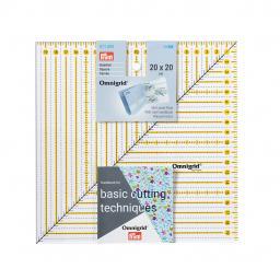 Patchwork-Lineal Square 20x20cm Omnigrid