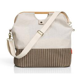 "Store & Travel Bag ""Canvas & Bamboo"" S natur"