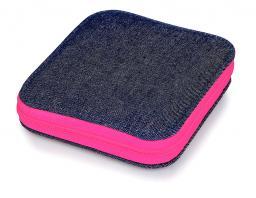Nähset Jeans Reißverschluss pink