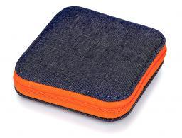 Nähset Jeans Reißverschluss orange