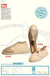 Anleitungsvideo & Schnittmuster für Espadrilles Sneaker