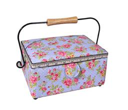 sewing basket rosegarden
