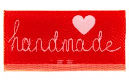 Label Center Fold to Sew on Handmade