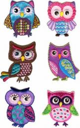 Motif Assortment 6X1 to Iron On Owl