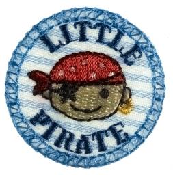 Motif To Iron On Little Pirate