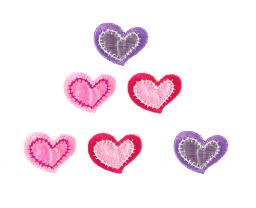 Application assortment 3x2 Hearts