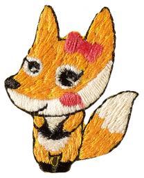 Applikation Fuchs Weibchen