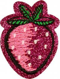 Applikation Erdbeere glitzernd