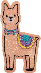 Applikation Alpaca glitzernd