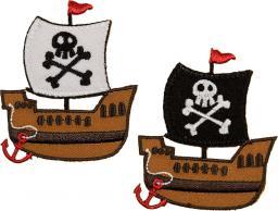 Applikation Sort.2x3 Piratenschiff