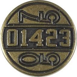 Knopf Ösen Metall 17mm