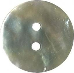 Knopf 2-Loch Perlmutt 15mm