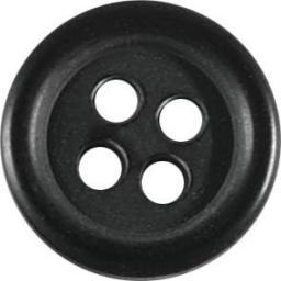 Knopf 4-Loch Standard 13mm