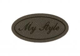 Applikation My Style Grau