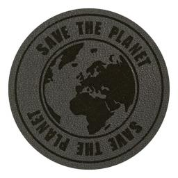 Motif Save the Planet Grey