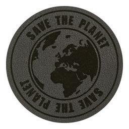Applikation Save the Planet Grau