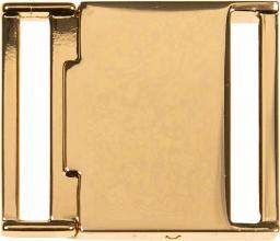 Gürtelschließe 30mm gold