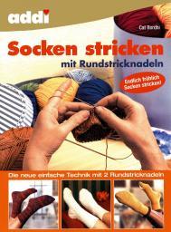 addi Socken stricken mit Rundstricknadeln