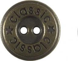 Knopf 2-Loch Metall 18mm