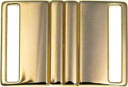 Gürtelschnalle 40mm gold