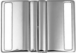 Gürtelschnalle 40mm silber