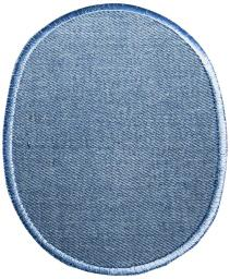 Jeans Aufbügelflecken umkettelt VENO