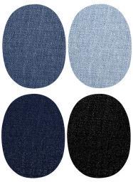 Jeans Aufbügelflecken Mini Sort. 4x2Stück