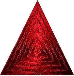 Motif iron-on Triangle
