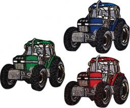 Motif Assortment 3X2 Iron-On Tractor
