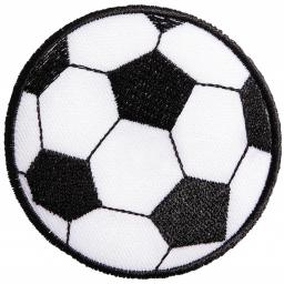 Motif Soccer, Large Iron-On