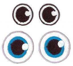 Applikation Augen 2 Paar