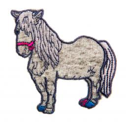 motif pony grey
