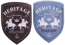 Applikation Sort.2x3 HERTAGE Polo Cup
