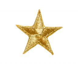 Applikation Stern gold