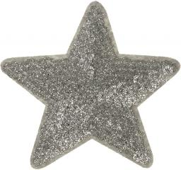 Motif Star silver
