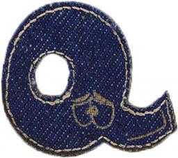 Motif Jeans Letter Q