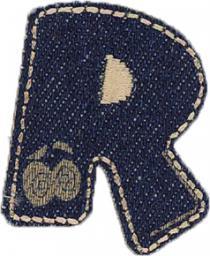 Motif Jeans Letter R