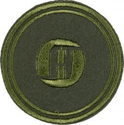 Motif A round green