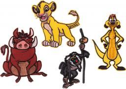 Applikation Sort. 4x2 König der Löwen