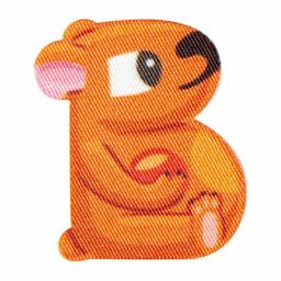 Motif Kids Letter Animals B