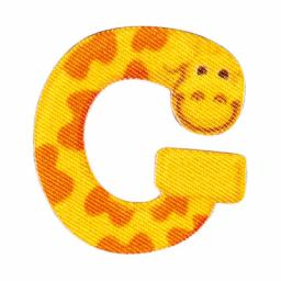 Applikation Kids Letter Animals G