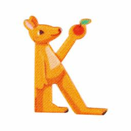 Applikation Kids Letter Animals K