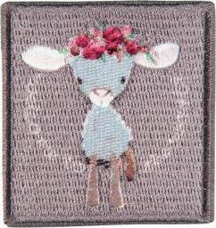 Application sheep with flowers
