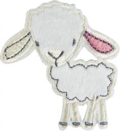 Application sheep with pink ear